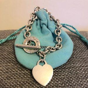 Tiffany & co toggle silver bracelet
